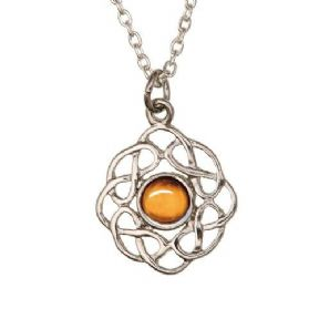 Celtic Birthstone Pendant November - Topaz 2010